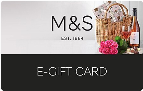 M and S card